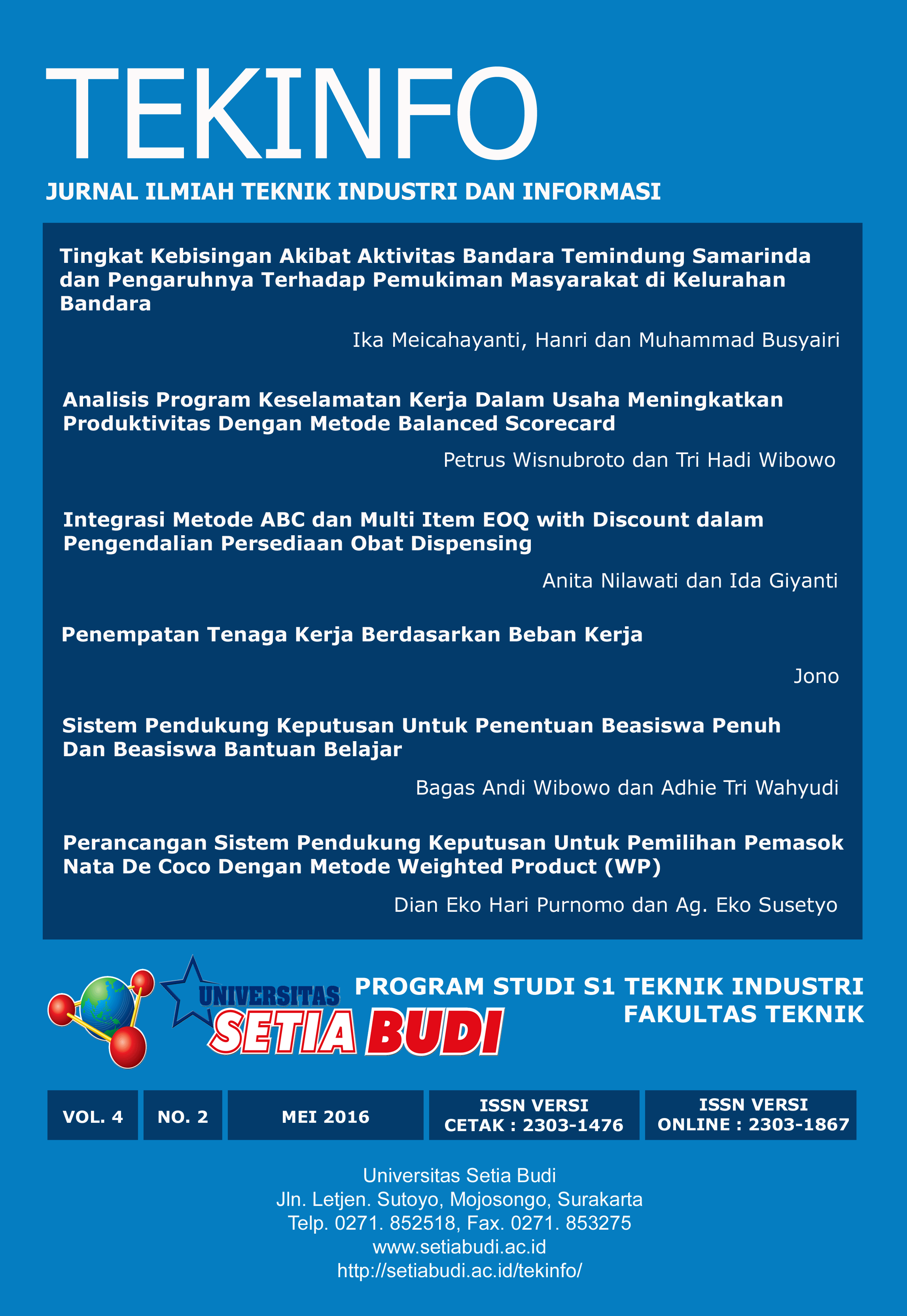 Tekinfo Vol 4 No 2